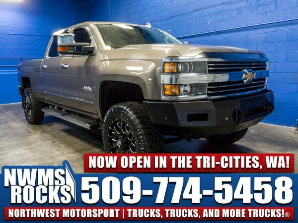 Lifted 2015 *Chevrolet Silverado* 2500 High Country 4x4 - 2015 Chevrol