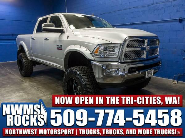 Lifted 2016 *Dodge Ram* 2500 Laramie 4x4 - Premium Wheels! 2016 Dodge
