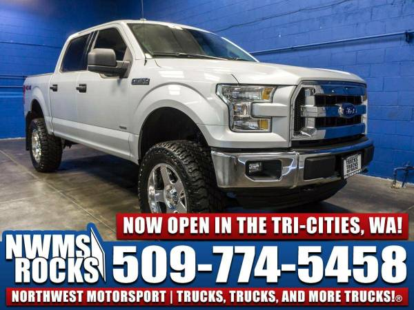 Lifted 2016 *Ford F150* XLT 4x4 - BRAND NEW NWMS LIFT! 2016 Ford F-150
