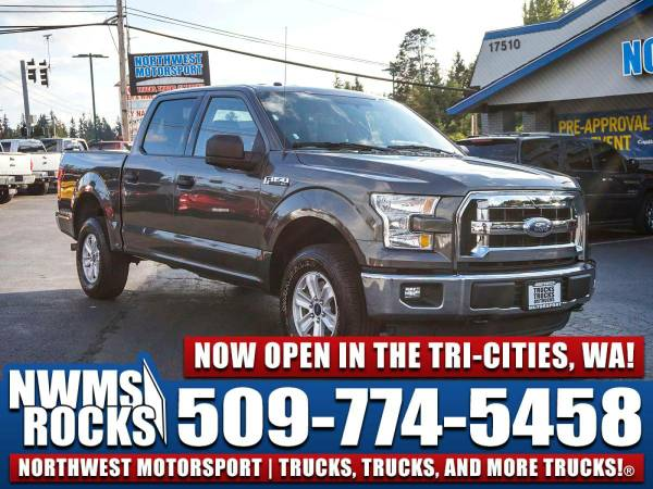 2016 *Ford F150* XLT 4x4 - One Previous Owner! 2016 Ford F-150 XLT 4x4