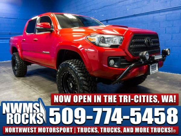 Lifted 2016 *Toyota Tacoma* 4x4 - One Previous Owner! 2016 Toyota Taco