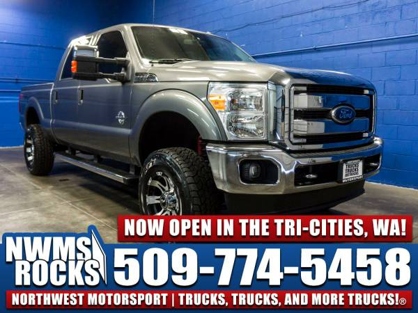 Lifted 2012 *Ford F350* XLT 4x4 - 2012 Ford F-350 XLT 4x4 Lifted Diese