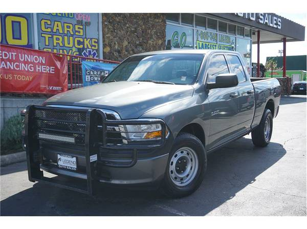 2010 Dodge Ram 1500 Quad Cab Truck ST Pickup 4D 6 1 3 ft