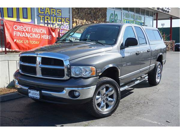 2004 Dodge Ram 1500 Quad Cab Truck SLT Pickup 4D 6 1 4 ft