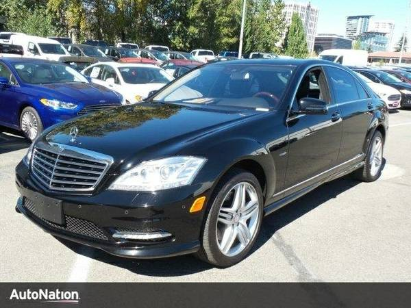 2012 Mercedes-Benz S-Class S550 SKU:CA438684 Sedan