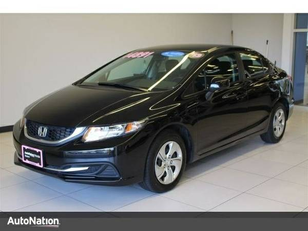 2013 Honda Civic LX SKU:DH580270 Sedan