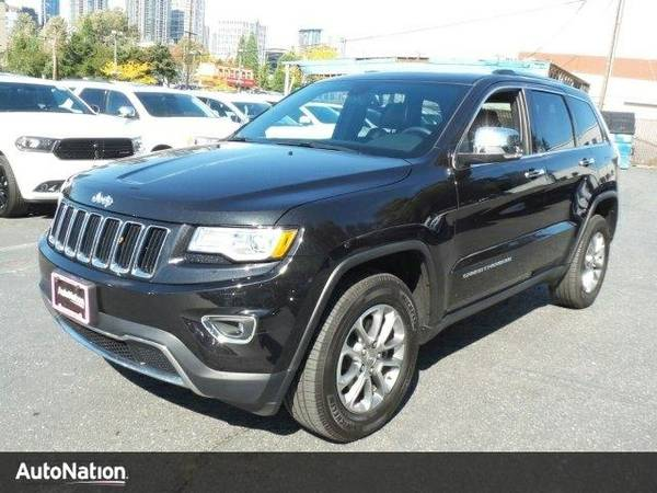 2016 Jeep Grand Cherokee Limited Jeep Grand Cherokee Limited SUV