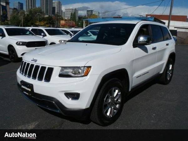 2015 Jeep Grand Cherokee Limited Jeep Grand Cherokee Limited SUV