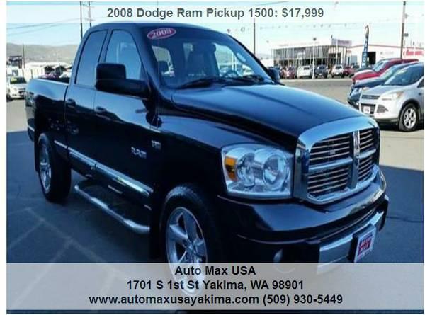 2008 Dodge Ram Pickup 1500 Laramie
