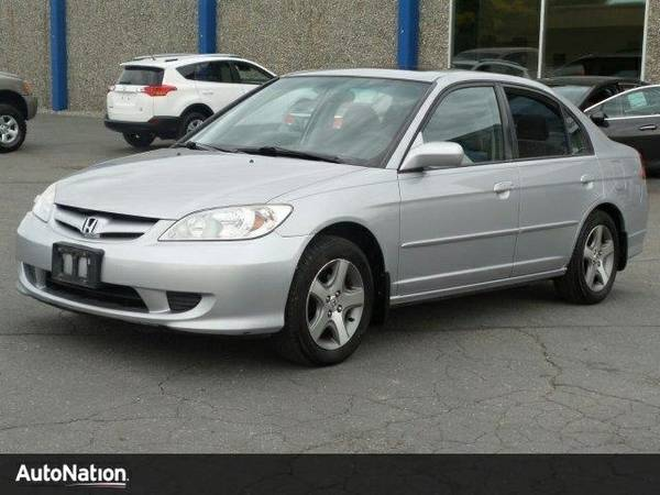 2004 Honda Civic EX SKU:4S001011 Honda Civic EX Sedan