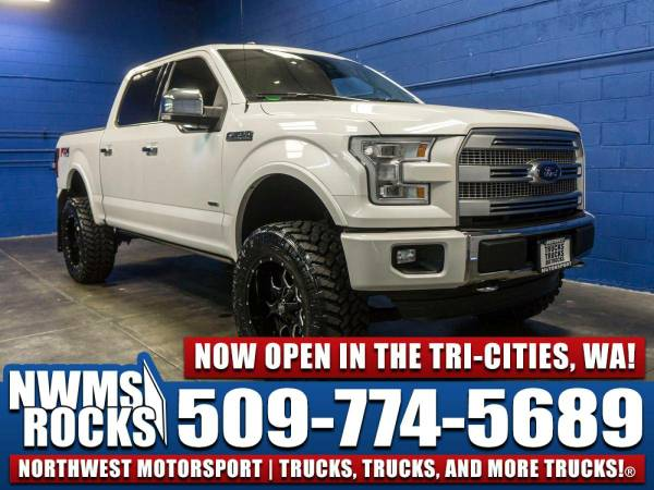 Lifted 2015 *Ford F150* Platinum 4x4 -