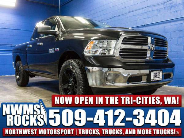 Lifted 2016 *Dodge Ram* 1500 Big Horn 4x4 -
