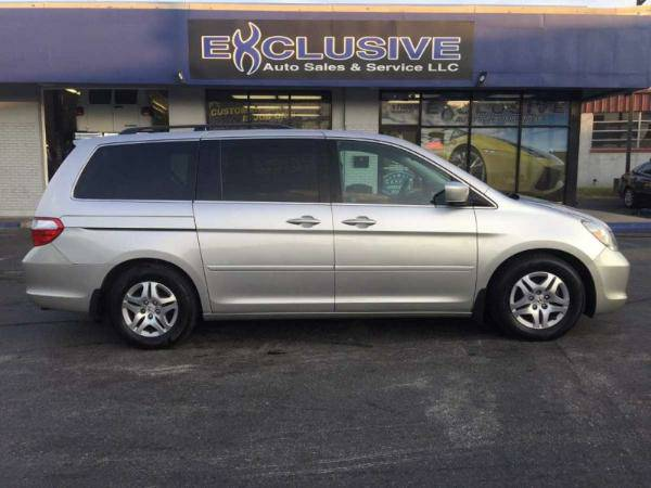 2007 Honda Odyssey EX-L *DVD*Leather*Sunroof* 1 OWNER*Clean CarFax!