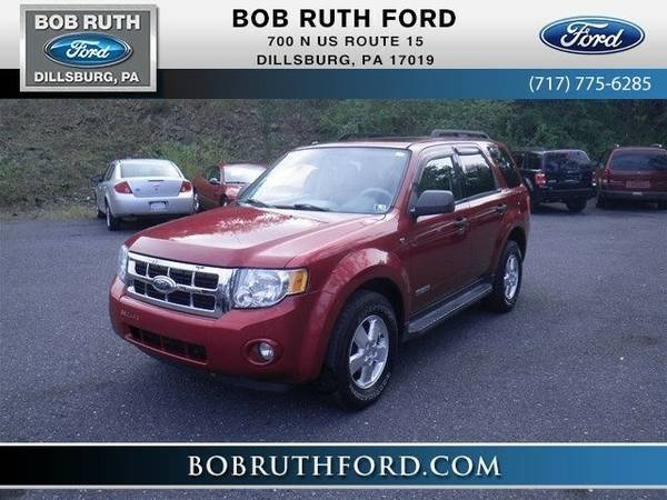 2008 Ford Escape XLT SUV Escape Ford