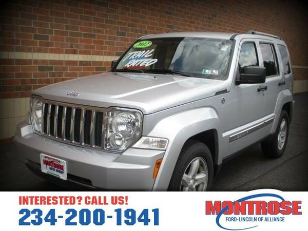 2012 Jeep Liberty Limited SUV Liberty Jeep