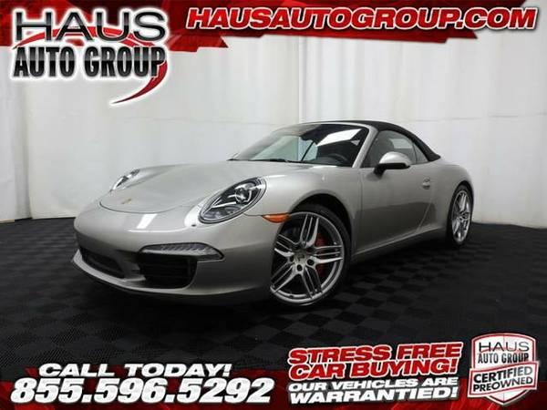 2012 *Porsche 911* S - Porsche-INSTANT APPROVAL