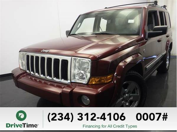 2007 *Jeep Commander* Limited - BAD CREDIT OK