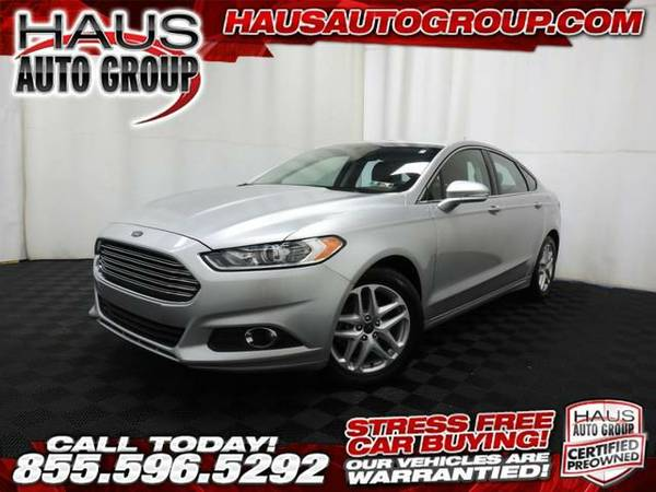 2015 *Ford Fusion* SE - Ford-INSTANT APPROVAL