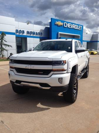 2017 *APEX* CHEVY SILVERADO 1500 4X4 CUSTOM LIFT WHEELS AND TIRES!!!