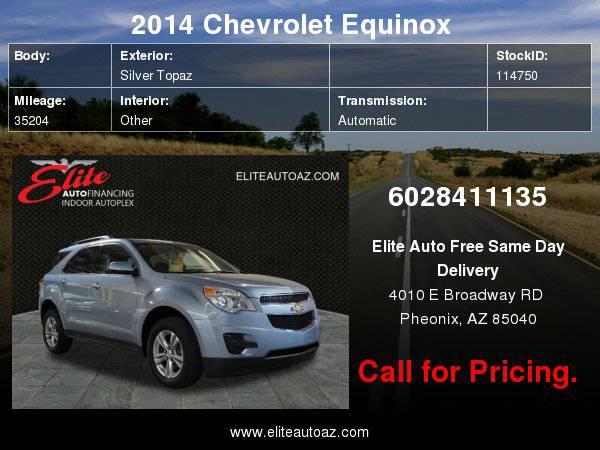 2014 Chevrolet Equinox FWD 4dr LT w/1LT