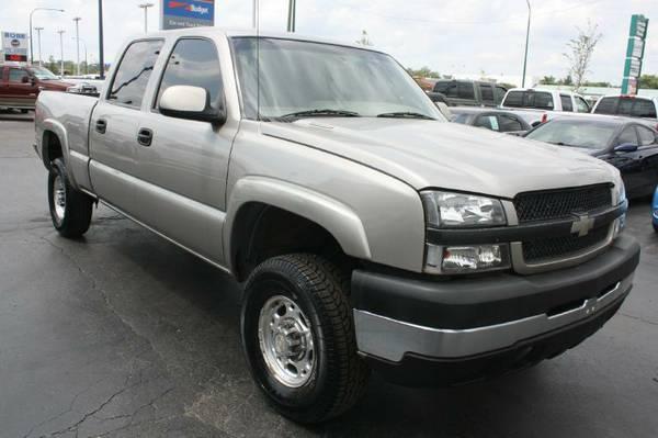 2003 Chev Silverado 2500-Duramax Diesel, 4X4, Alison Transmission