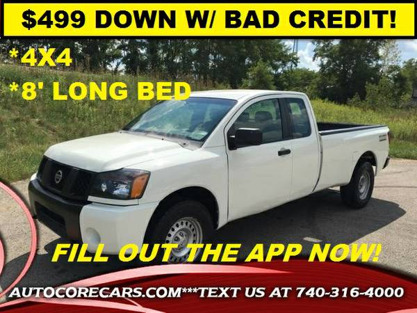 2008 NISSAN TITAN 4WD LONG BED* $499 DOWN W/ BAD CREDIT GUARANTEED!