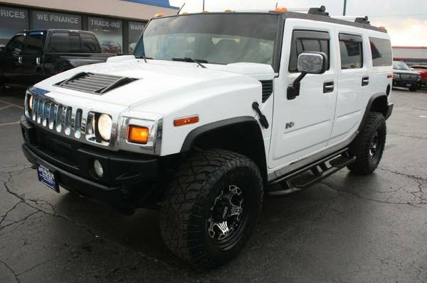 2003 Hummer H2-Leather, Sunroof, Camera, Navi, Entertainment Sys