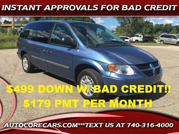 2007 DODGE GRAND CARAVAN *87K MILES!$499 DOWN W/ BAD CREDIT GUARANTEED