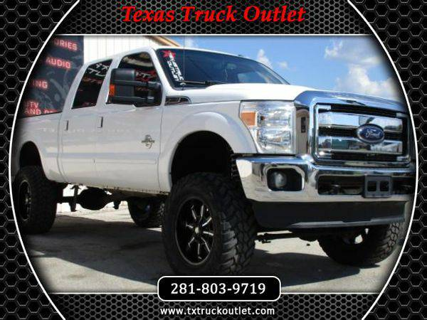 2012 *Ford* *F250* LIFTED 4X4 FX4 LARIAT DIESEL