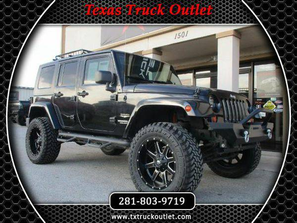 2007 *Jeep* *Wrangler* *Sahara* LIFTED 4X4 FUEL WHEELS