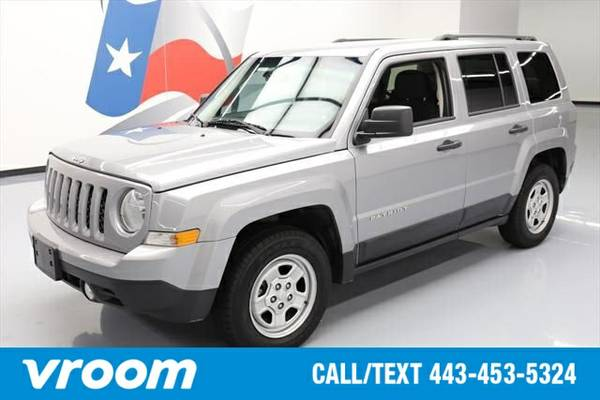 2016 Jeep Patriot Sport 7 DAY RETURN / 3000 CARS IN STOCK