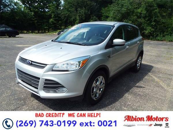 2014 *Ford Escape* SE - Ford Ingot Silver