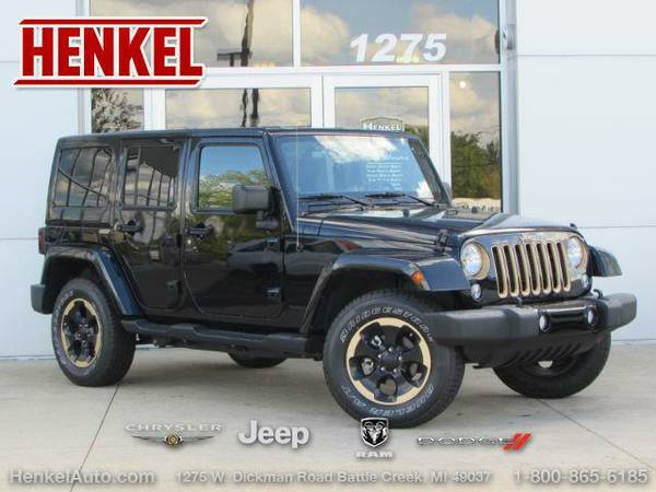 2014 *Jeep Wrangler Unlimited* Dragon Ed. 4x4 - Black Clearcoat