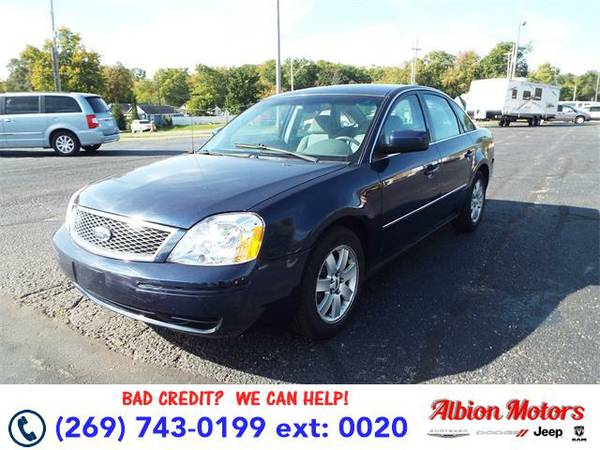 2005 *Ford Five Hundred* SEL - Ford Dark Blue Pearl