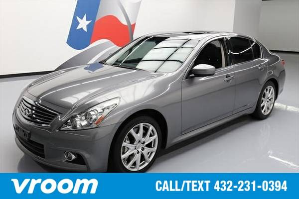 2013 Infiniti G37 Journey 7 DAY RETURN / 3000 CARS IN STOCK