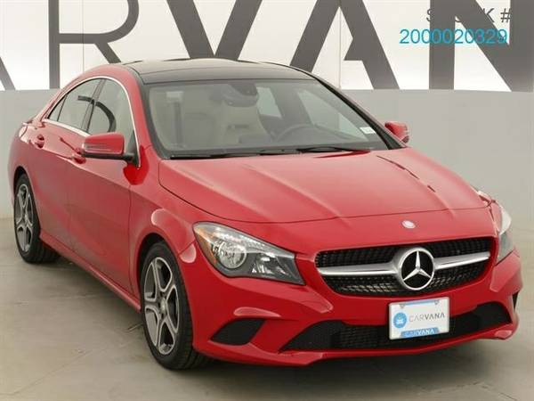 2014 Mercedes-Benz CLA-Class CLA250 Sedan