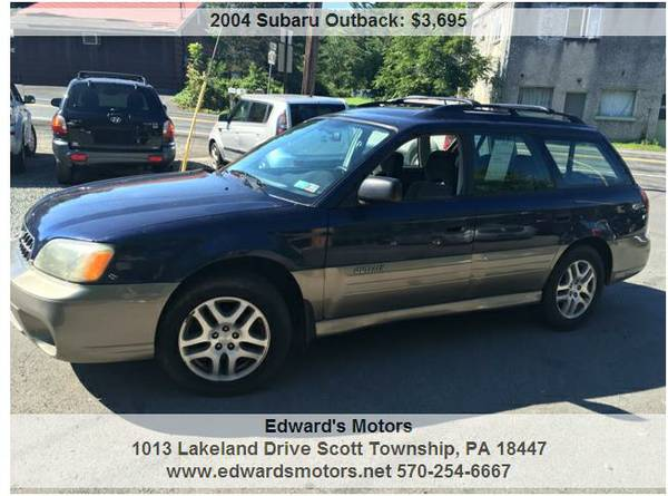 2004 Subaru Outback Wagon 4x4 Auto with warranty