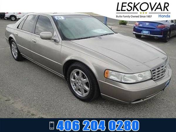 *2001* *Cadillac Seville* *4dr Car Touring STS* *GOLD*
