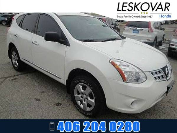 *2012* *Nissan Rogue* *Sport Utility S* *Pearl White*