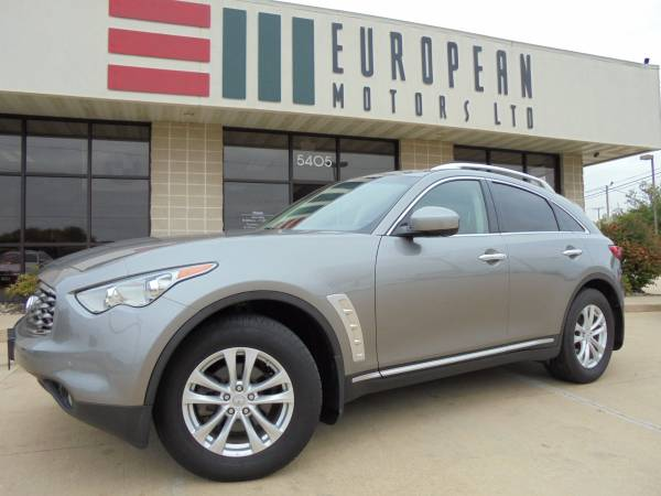 2011 Infiniti FX35 AWD SUV Similar to Audi Q5 Q7 BMW X3 X5 Mercedes ML