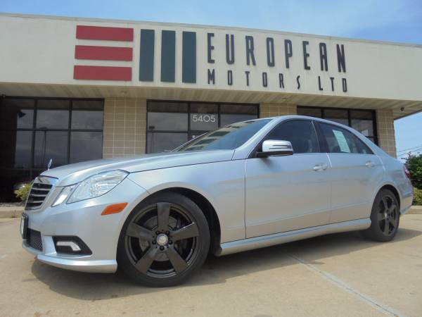 2011 Mercedes E350 4Matic AWD Sport Package