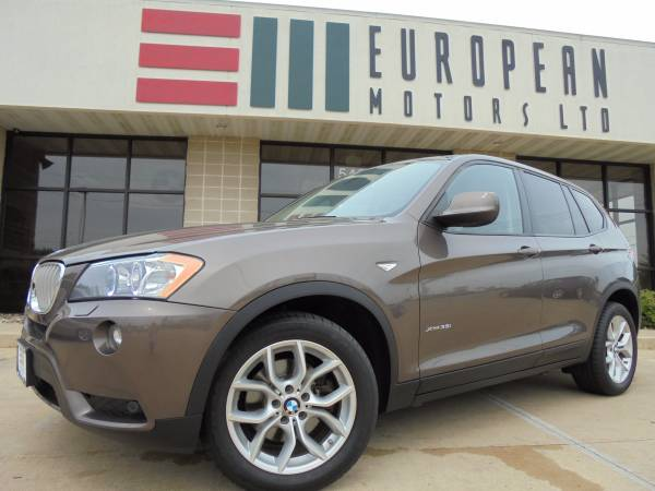 2011 BMW X3 35i AWD SUV with Navigation