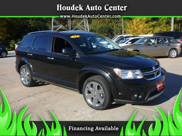 2012 Dodge Journey Crew@LEATHER@MOONROOF@TOUCH SCREEN@LOW MILES@