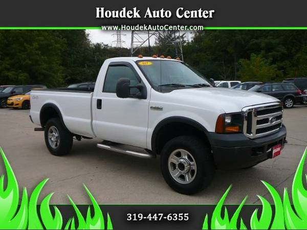 2007 Ford F-250 SD XL 4WD@LOW MILES@2 OWNER@ NEWER TIRES@