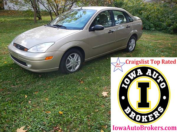1 OWNER! - 2001 FORD FOCUS SE - ONLY 129K MILES - LOOKS & DRIVES GREAT