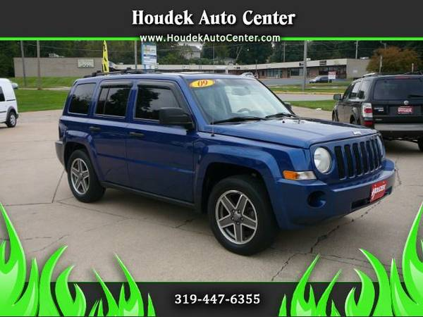 2009 Jeep Patriot Sport 4WD @LOW MILES@MOONROOF@WARRANTY@SHARP