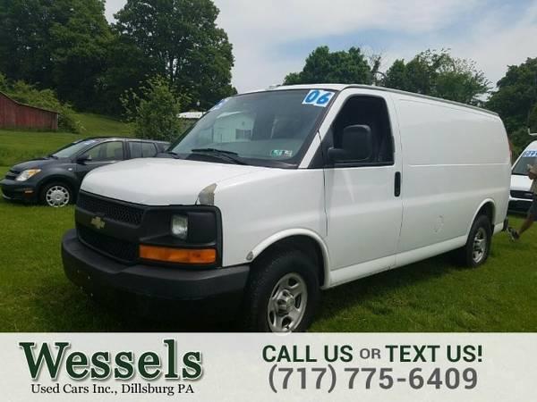 2006 Chevrolet Express Cargo Van 1500 Cargo Van Van Express Cargo Van