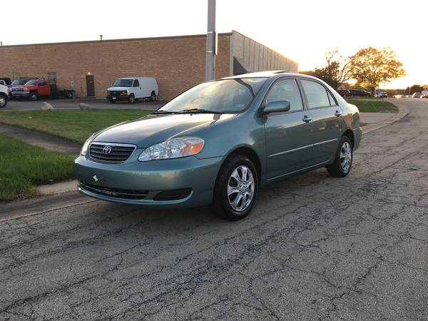 2006 Toyota Corolla LE, Low 99k Miles, No Xident, No Rust, Sunroof
