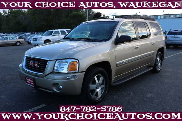 2004 *GMC* *ENVOY* XL SLT 4WD SUV 1OWNER 3ROW LEATHER SUNROOF 179342