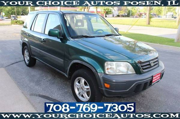 2001 *HONDA* *CR-V* AWD EX SUV GAS SAVER CD PLAYER GOOD TIRES 006723